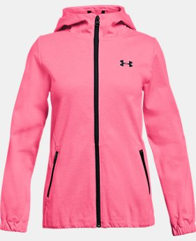 New Arrival Girls' UA Lightweight Swacket  1 Color $89.99
