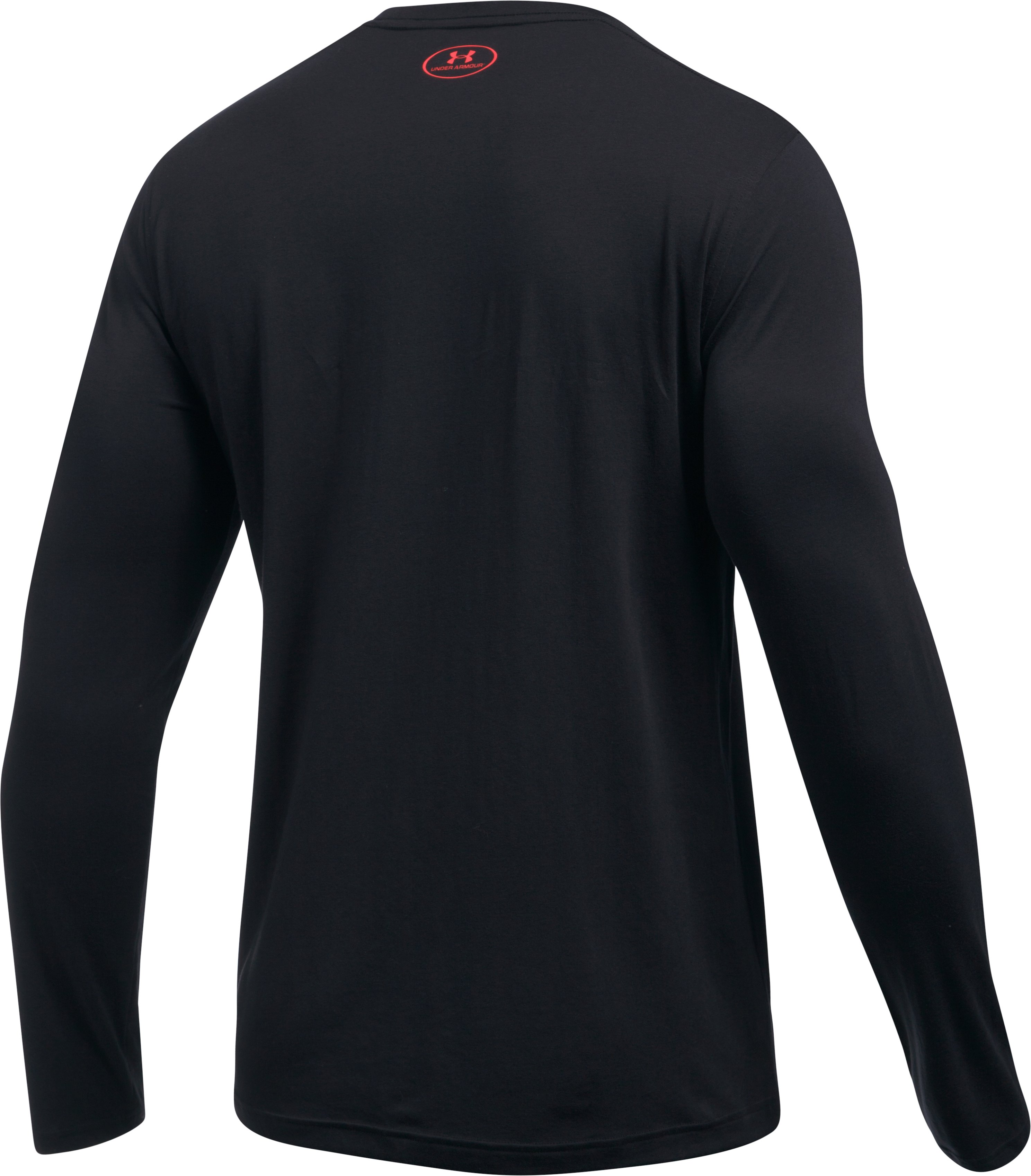 Men's UA Chest Logo Long Sleeve T-Shirt , Black