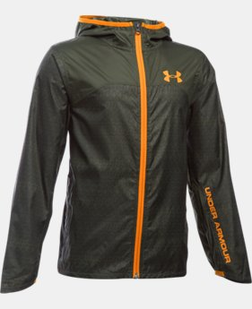 Boys' UA Leeward Windbreaker  1 Color $48.99