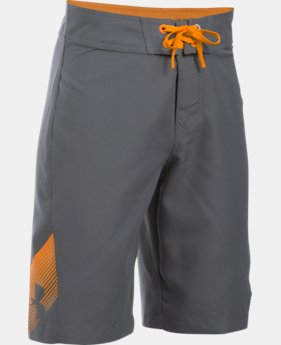 New to Outlet Boys' UA Rigid Boardshorts  1 Color $20.99