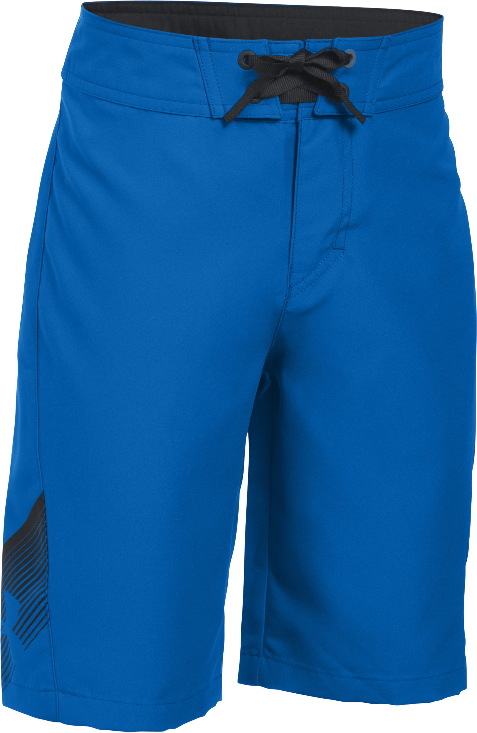 Boys' UA Rigid Boardshorts, ULTRA BLUE,