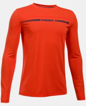 Boys' UA The 50 Long Sleeve  1 Color $20.24