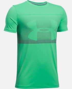 Boys' UA The 50 Short Sleeve  2 Colors $17.24
