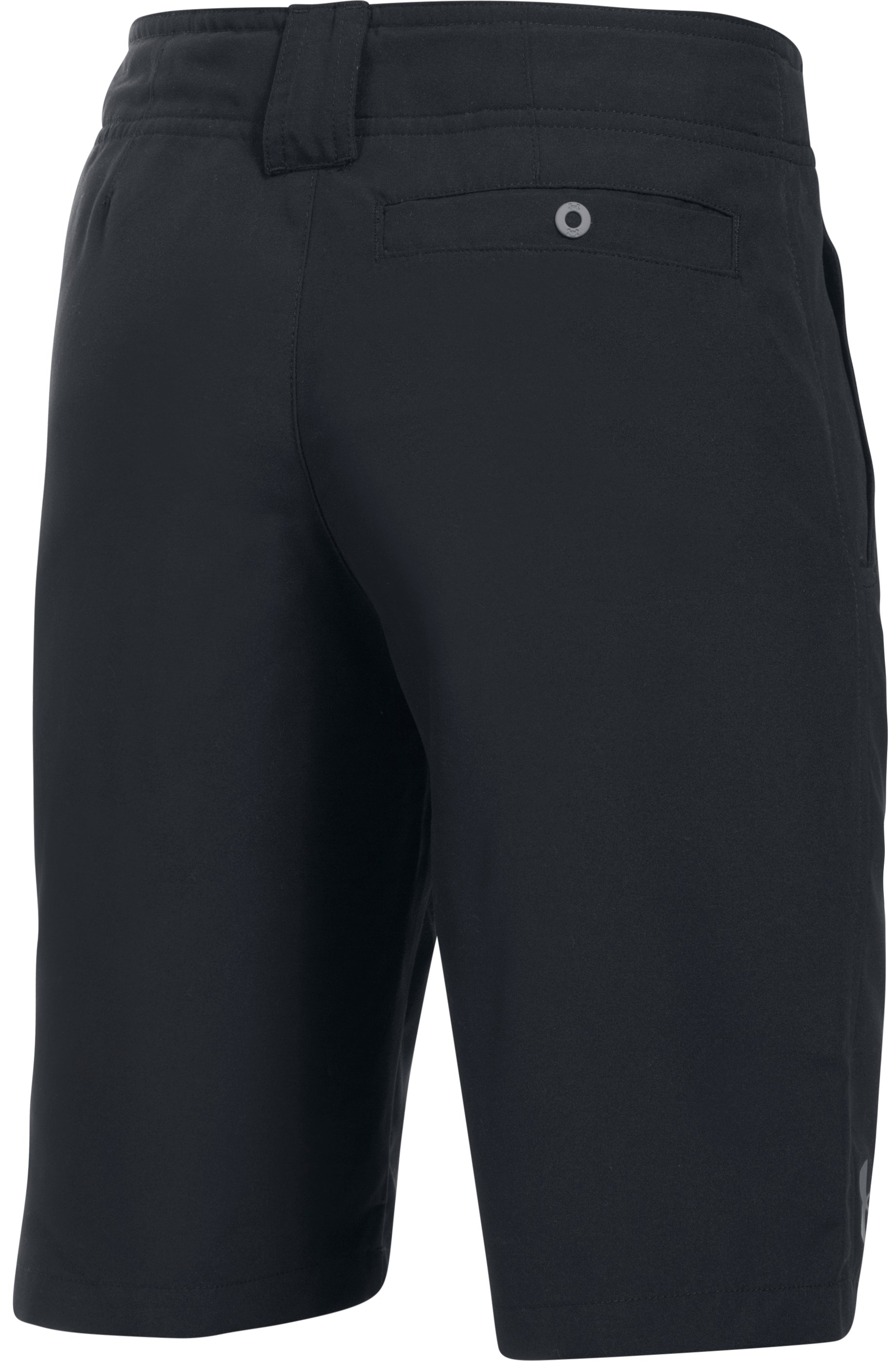 Boys' UA Embarker Amphibious Boardshorts, Black , undefined