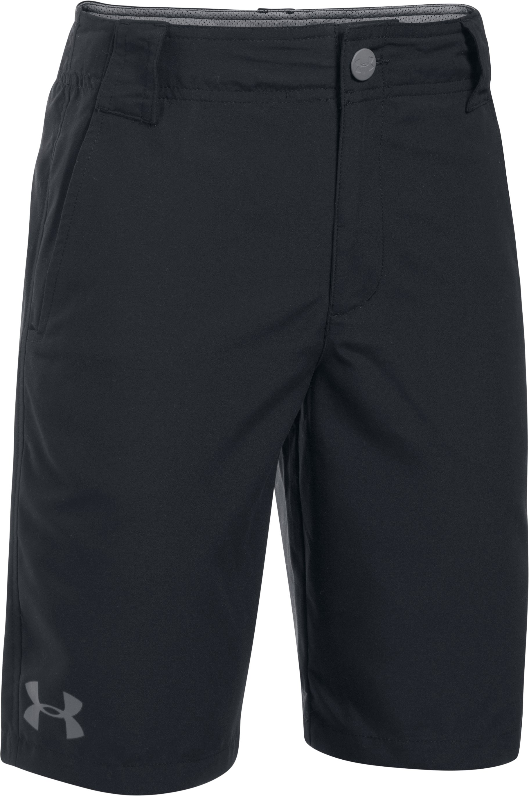 Boys' UA Embarker Amphibious Boardshorts, Black