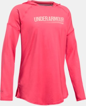 Girls' UA The 50 Long Sleeve Hoodie  1  Color Available $44.99