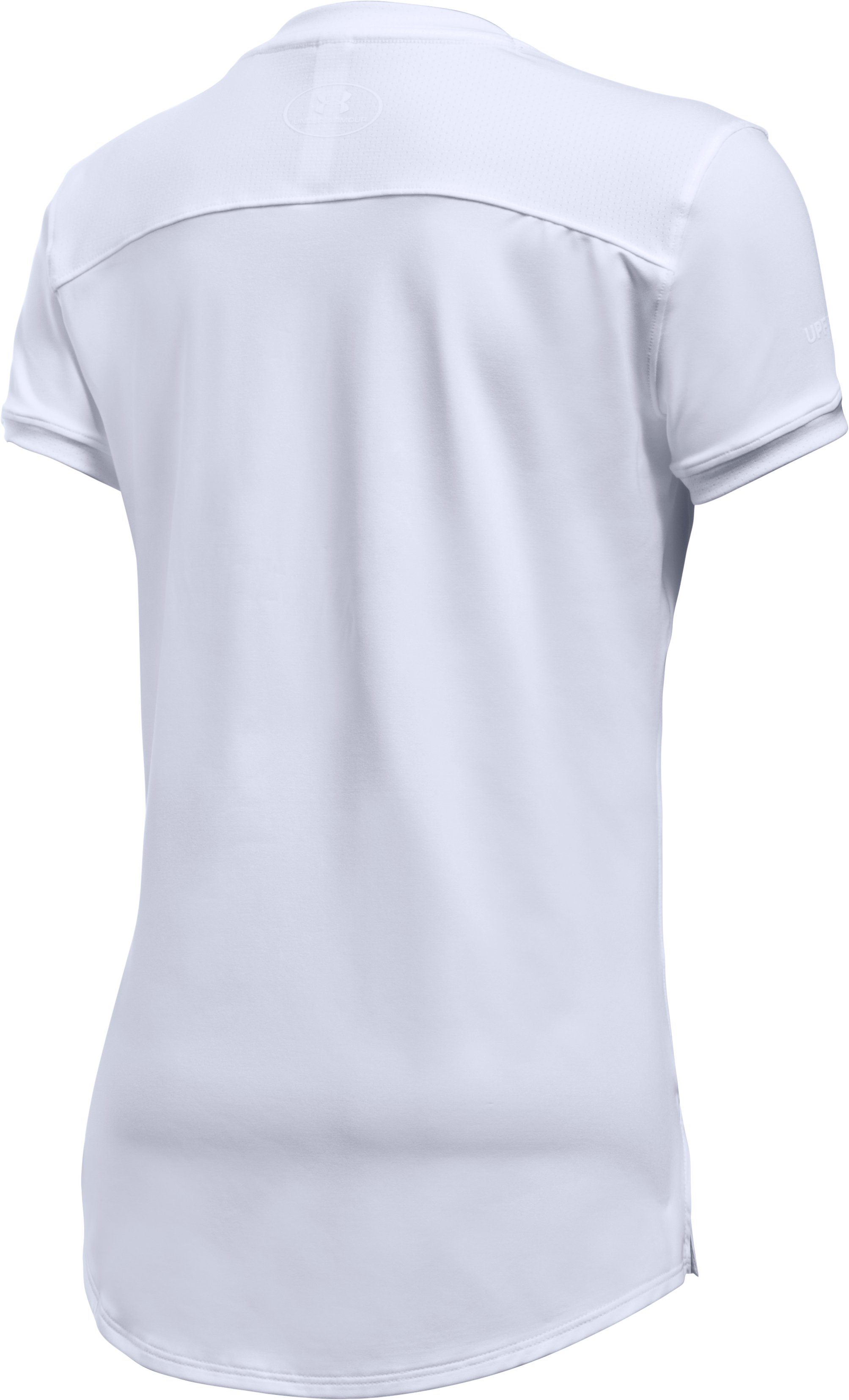 Girls' UA The 50 Short Sleeve T-Shirt, White, undefined
