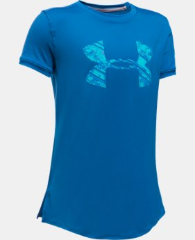 Girls' UA The 50 Short Sleeve T-Shirt  1 Color $17.99