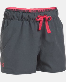 Girls' UA Do Anything Shorts  1 Color $22.99