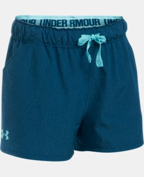 Girls' UA Do Anything Shorts  1 Color $17.24