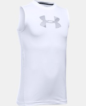 Boys' HeatGear® Armour Sleeveless  1 Color $22.99