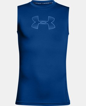 Boys' HeatGear® Armour Sleeveless  2 Colors $22.99 to $24.99
