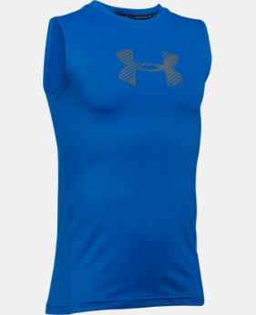 Boys' HeatGear® Armour Sleeveless  1 Color $27.99