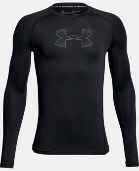 Boys' HeatGear® Armour Long Sleeve  3 Colors $29.99