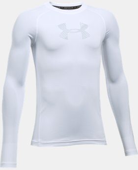 Boys' HeatGear® Armour Long Sleeve  1 Color $34.99