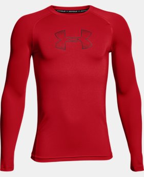 Boys' HeatGear® Armour Long Sleeve  5 Colors $29.99