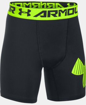 Boys' HeatGear® Armour Mid Shorts  1 Color $16.79
