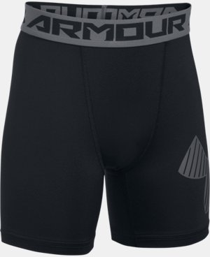 New Arrival Boys' HeatGear® Armour Mid Shorts   $22.99
