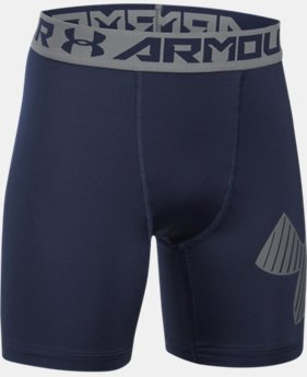 Boys' HeatGear® Armour Mid Shorts  4 Colors $27.99