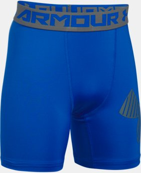 Boys' HeatGear® Armour Mid Shorts  1 Color $16.79 to $20.99