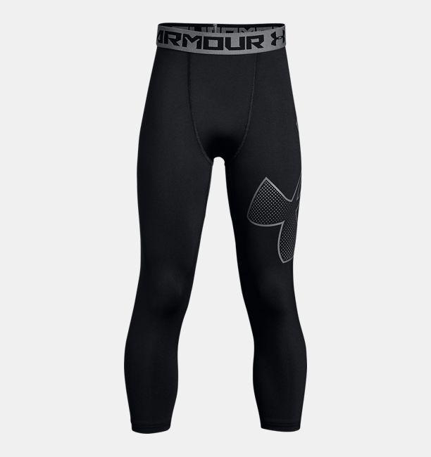 c1d7ab58ca966 Boys  HeatGear® Armour ¾ Logo Leggings