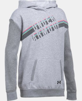 Girls' UA Favorite Fleece Hoodie  1 Color $23.99