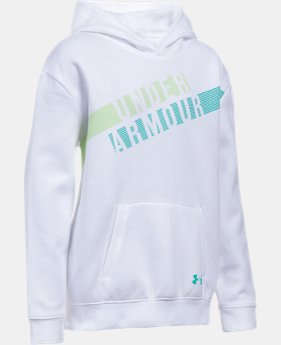 Girls' UA Favorite Fleece Hoodie  2 Colors $23.99