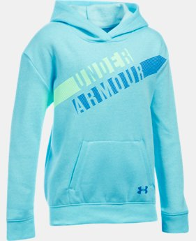 Girls' UA Favorite Fleece Hoodie LIMITED TIME OFFER 2 Colors $33.32