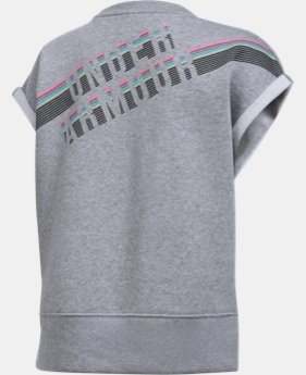 Girls' UA Favorite Fleece Crew  1 Color $21.99