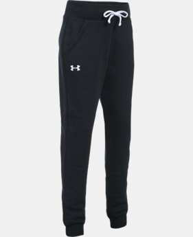 New Arrival  Girls' UA Favorite Fleece Jogger   $49.99