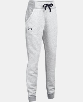 Girls' UA Favorite Fleece Joggers LIMITED TIME OFFER 1 Color $33.32