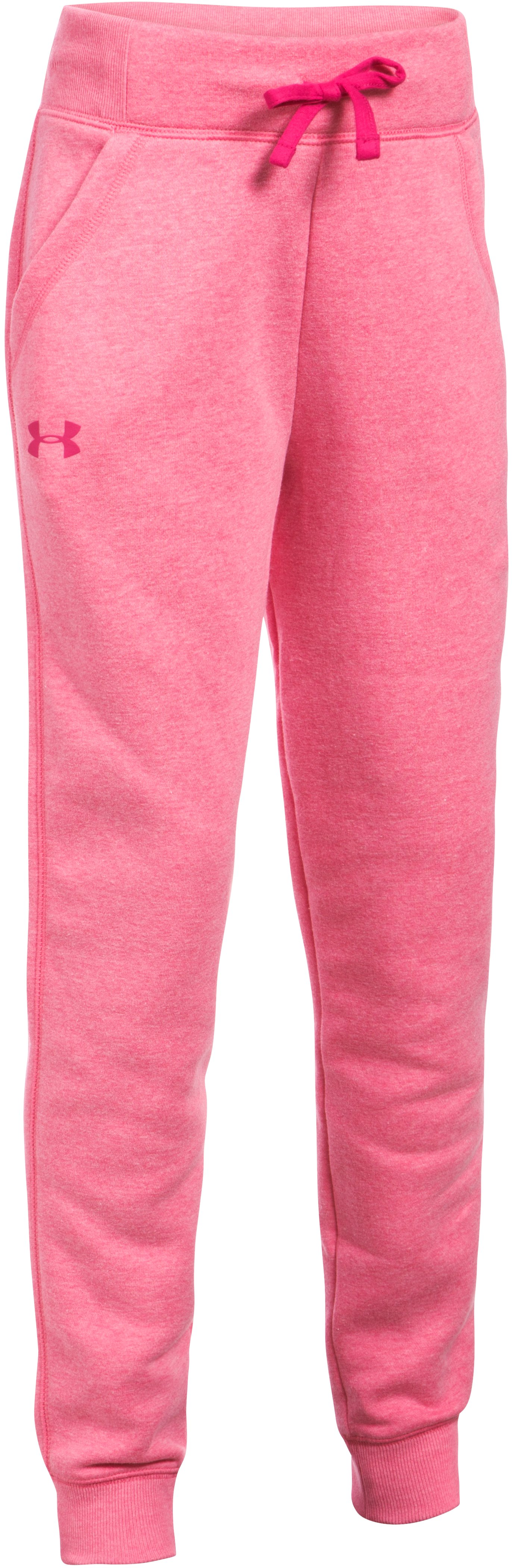 Girls' UA Favorite Fleece Joggers, GALA,