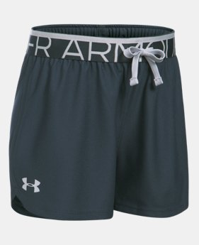 Girls' UA Play Up Shorts  1 Color $19.99