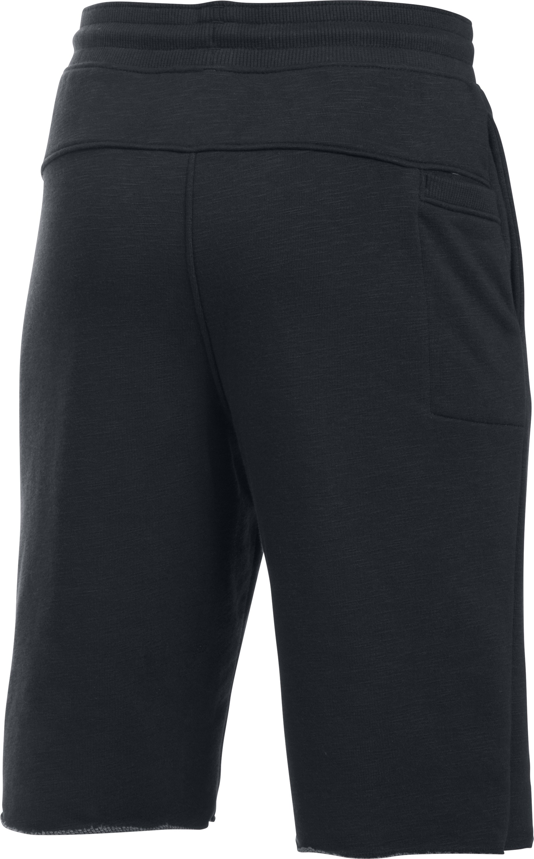 Boys' UA Sportstyle Iso Shorts, BLACK MEDIUM HEATHER