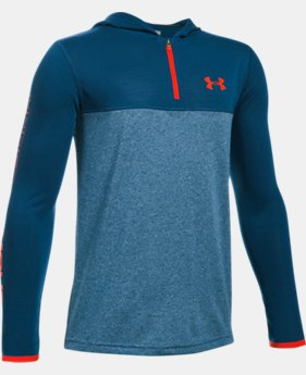 Boys' UA Threadborne ¼ Zip Hoodie  2 Colors $19.99 to $26.99