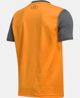 Boys' UA Raid Short Sleeve T-Shirt  1 Color $21.99