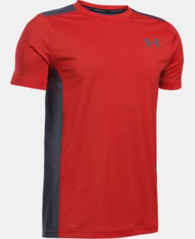Boys' UA Raid Short Sleeve T-Shirt  1 Color $14