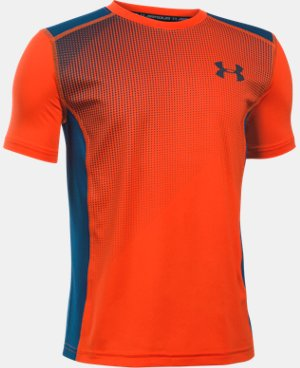 New Arrival Boys' UA Raid Short Sleeve T-Shirt  1 Color $27.99