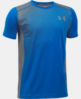 Boys' UA Raid Short Sleeve T-Shirt  1 Color $27.99