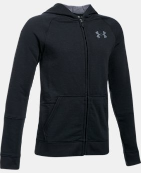 New Arrival  Boys' UA Sportstyle Iso Full Zip Hoodie  2 Colors $64.99