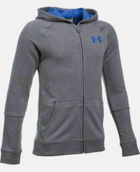 New Arrival  Boys' UA Sportstyle Iso Full Zip Hoodie  1 Color $64.99
