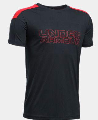 Boys' UA Activate Short Sleeve T-Shirt