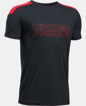 Boys' UA Activate Short Sleeve T-Shirt  1 Color $19.99 to $26.99