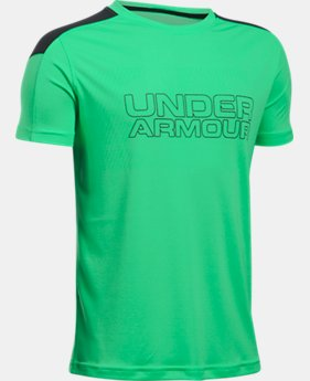 Boys' UA Activate Short Sleeve T-Shirt  1 Color $19.99 to $20.99