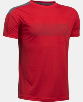 Boys' UA Activate Short Sleeve T-Shirt  1 Color $29.99
