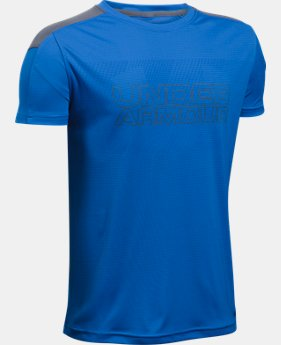 Boys' UA Activate Short Sleeve T-Shirt  1 Color $19.99