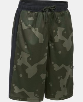 New Arrival Boys' UA Pursuit Cargo Shorts   $44.99