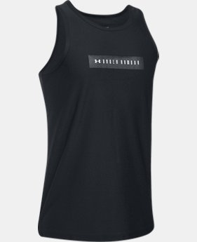 Boys' UA Pursuit Tank   $14.99