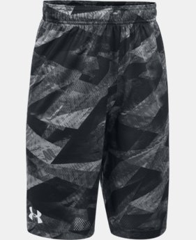 Boys' SC30 Essentials Printed Shorts  1 Color $20.99 to $26.99