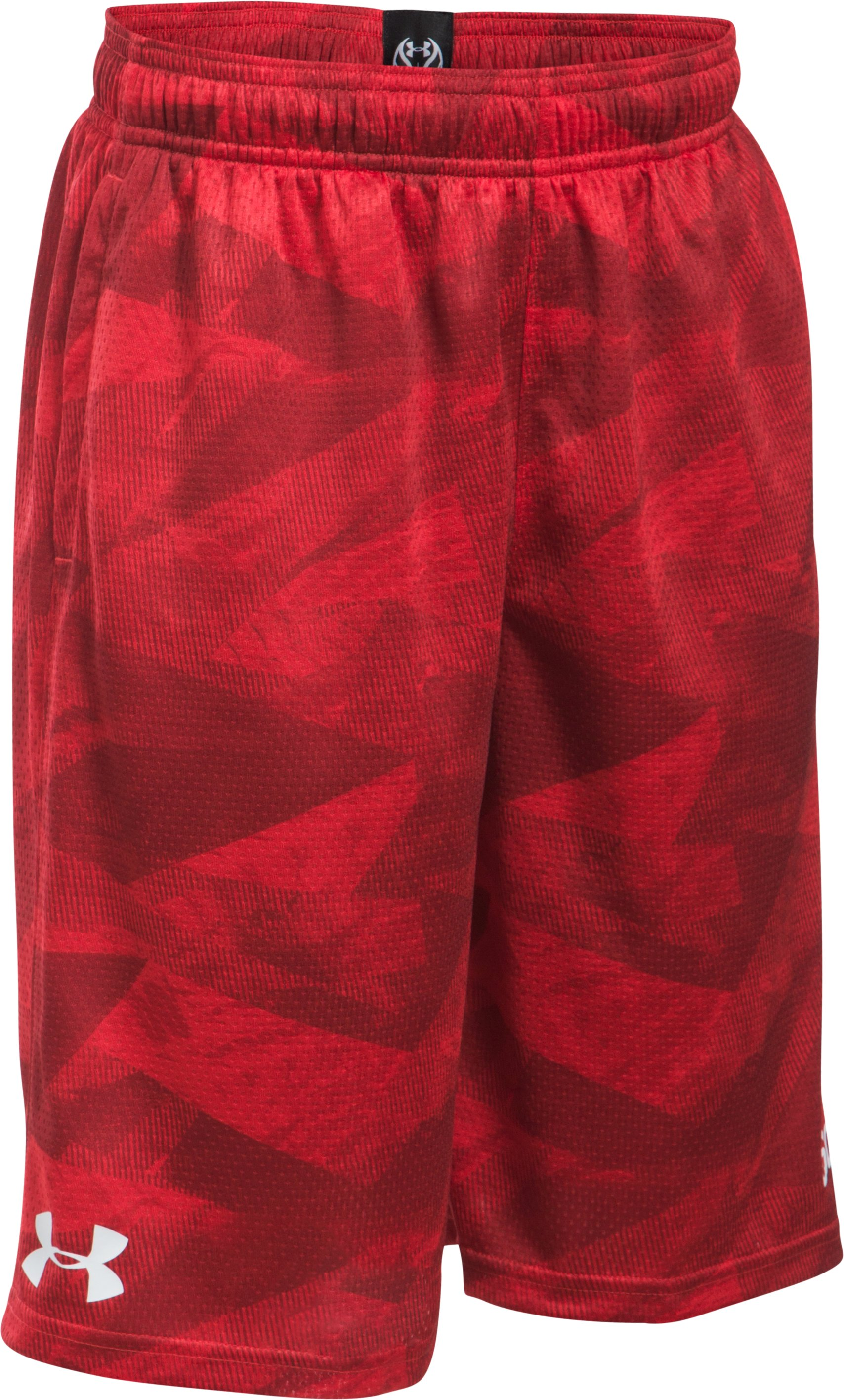Boys' SC30 Essentials Printed Shorts, Red